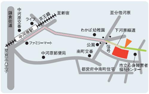 府中校地図