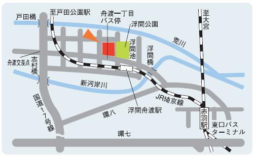 板橋校地図