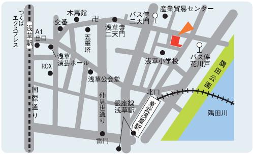 台東分校地図