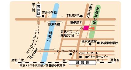 所在地 | 職業訓練(都立職業能力開発センター) | TOKYOはたらく ...