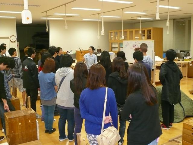 都立江北高等学校の生徒さんが見学にいらっしゃいました ...